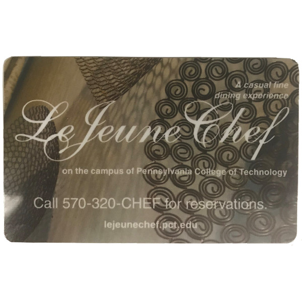 Le Jeune Chef Restaurant Gift Card
