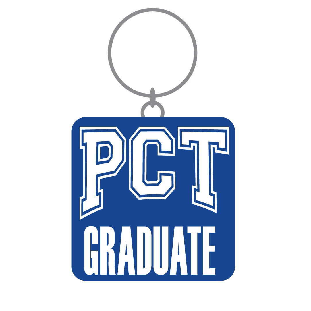 Image For PCT Graduate Keychain