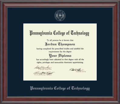 Diploma Frames The College Store At Penn College