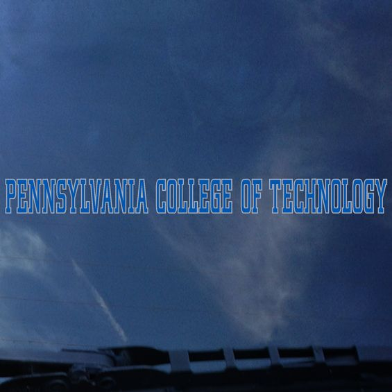 Cover Image For Pennsylvania College of Technology Long Decal