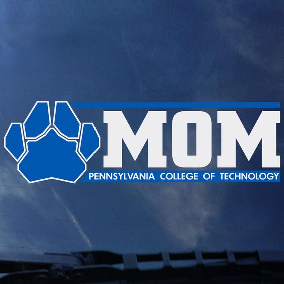 Image For Penn College Mom Window Decal