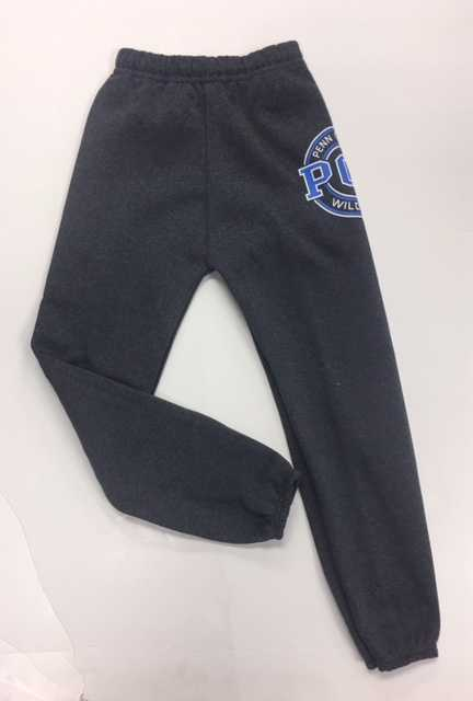 Cover Image For Youth PCT Wildcat Charcoal Sweat Pants
