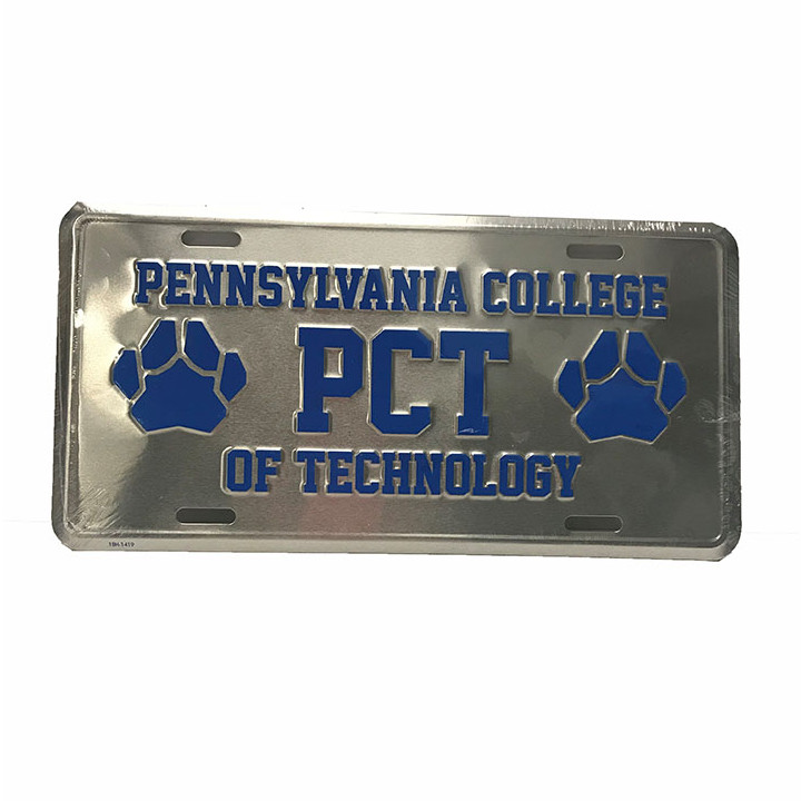 Image For Penn College License Plate