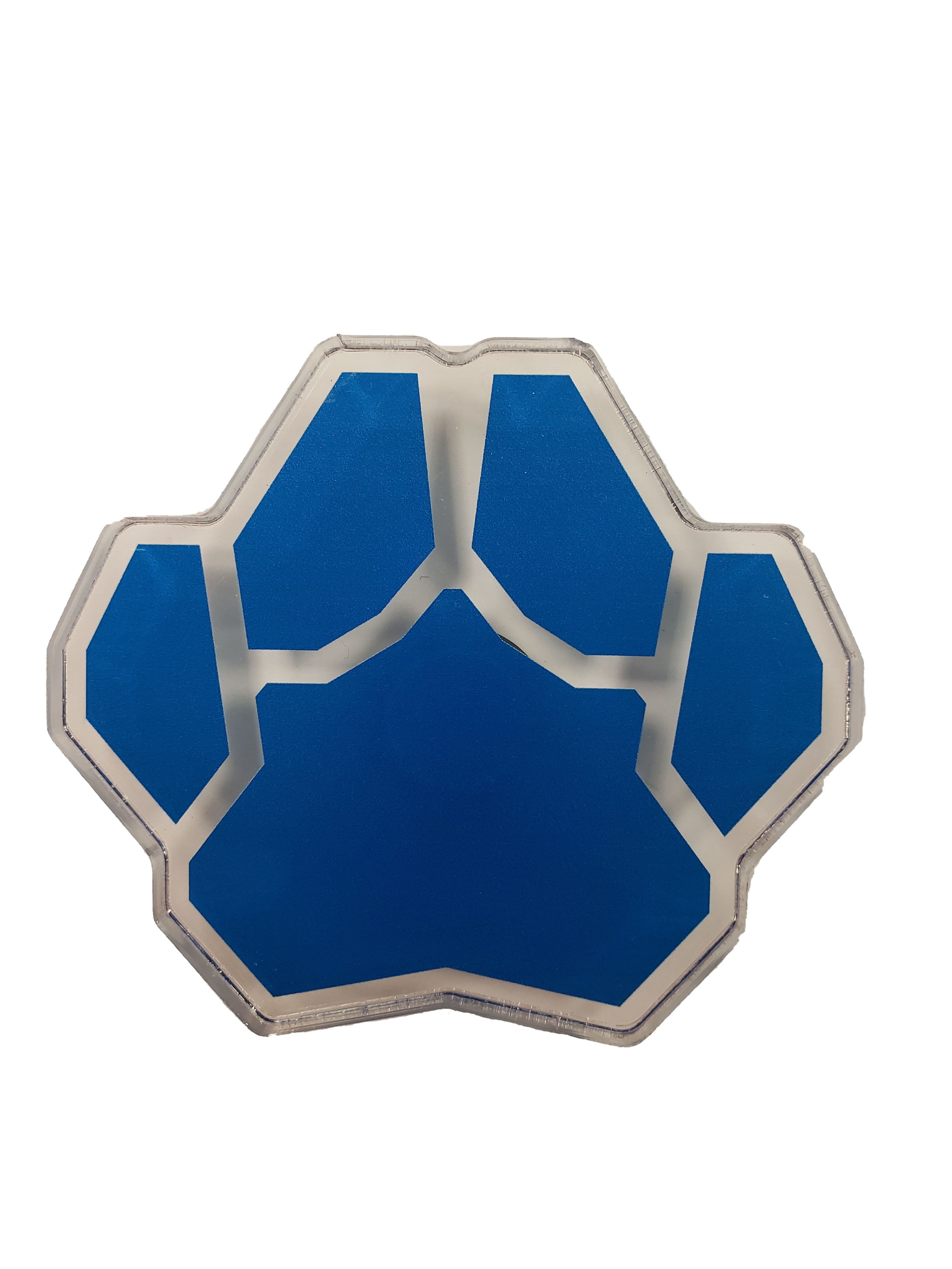 Cover Image For PAW PRINT ACRYLIC FRIDGE MAGNET