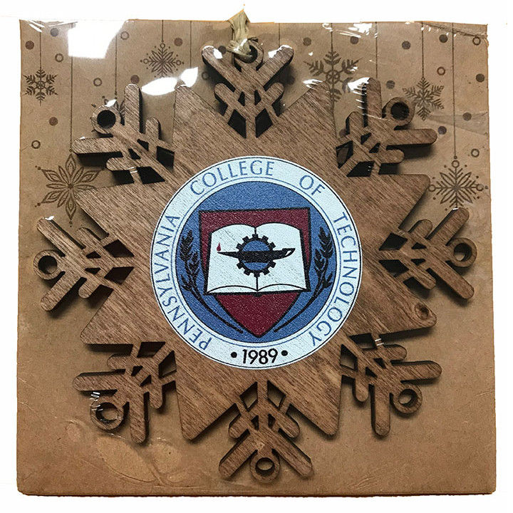 Cover Image For Wooden Snowflake Ornament