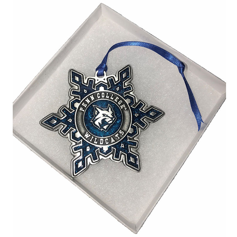 Image For Pewter Snowflake Ornament