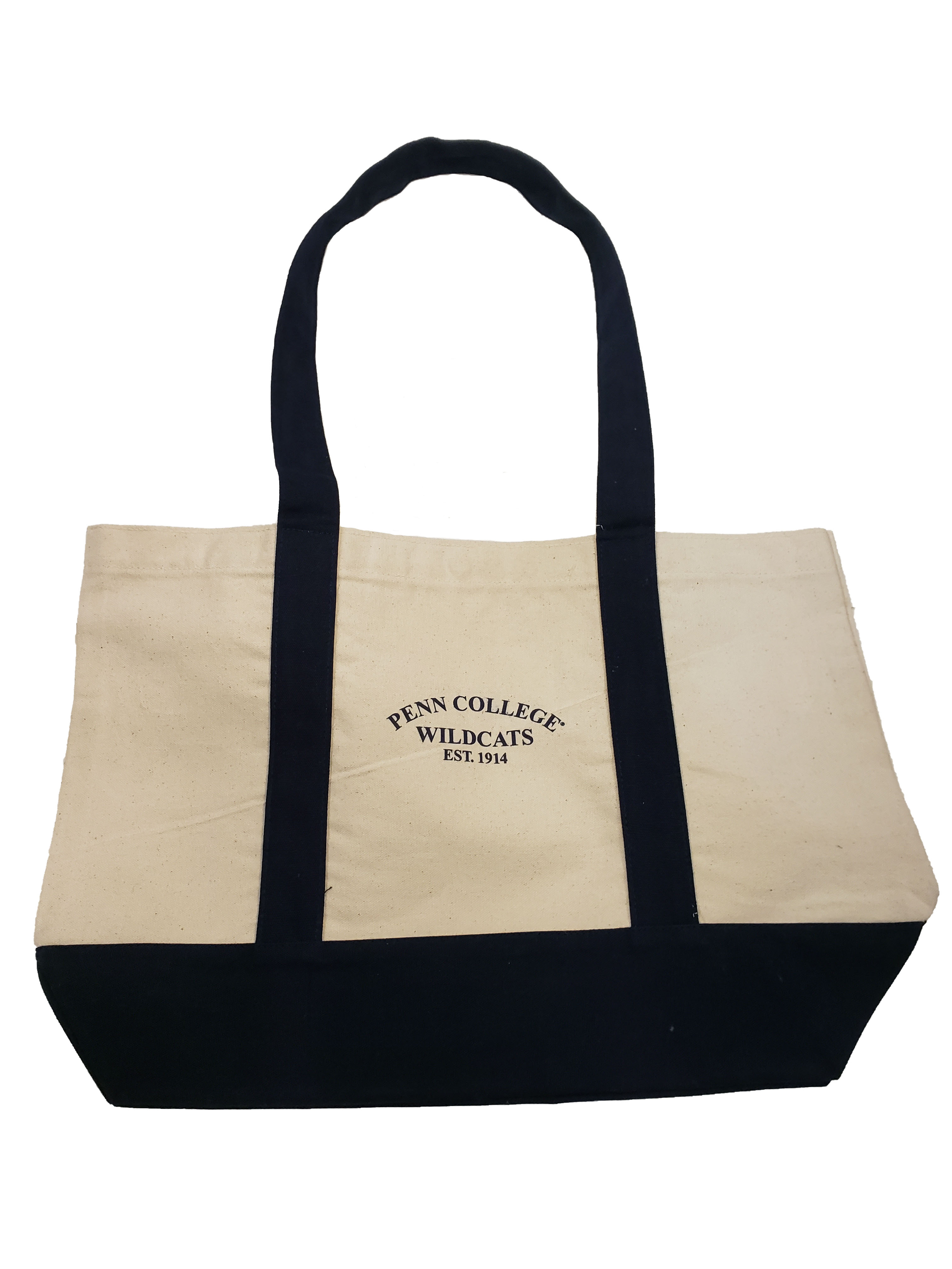 Image For Penn College Tote Bag Navy. ON SALE!