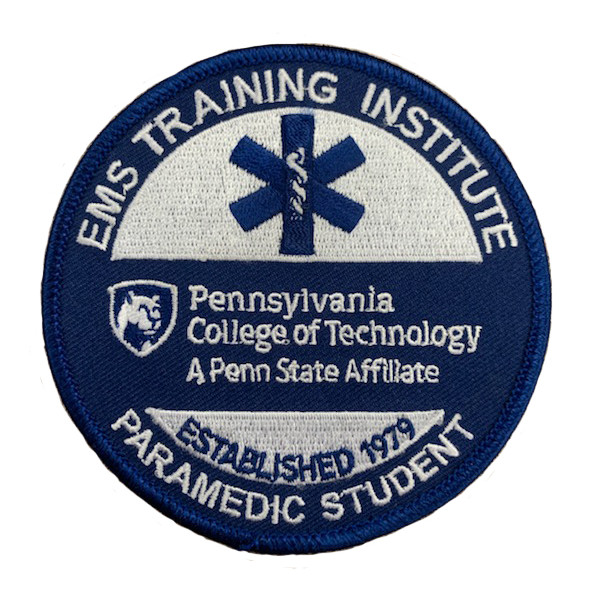 Image For Paramedic Student Patch