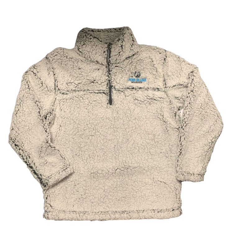 Image For Sherpa 1/4 Zip Frosty Grey