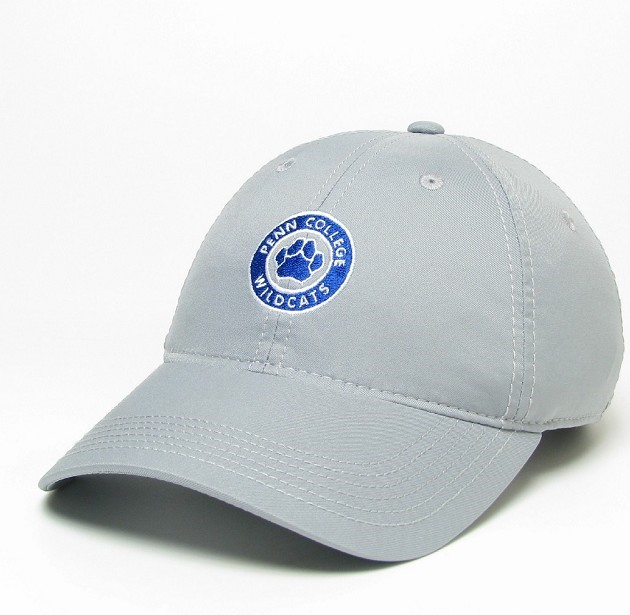 Image For GRAY PC CIRCLE HAT W/ PAW