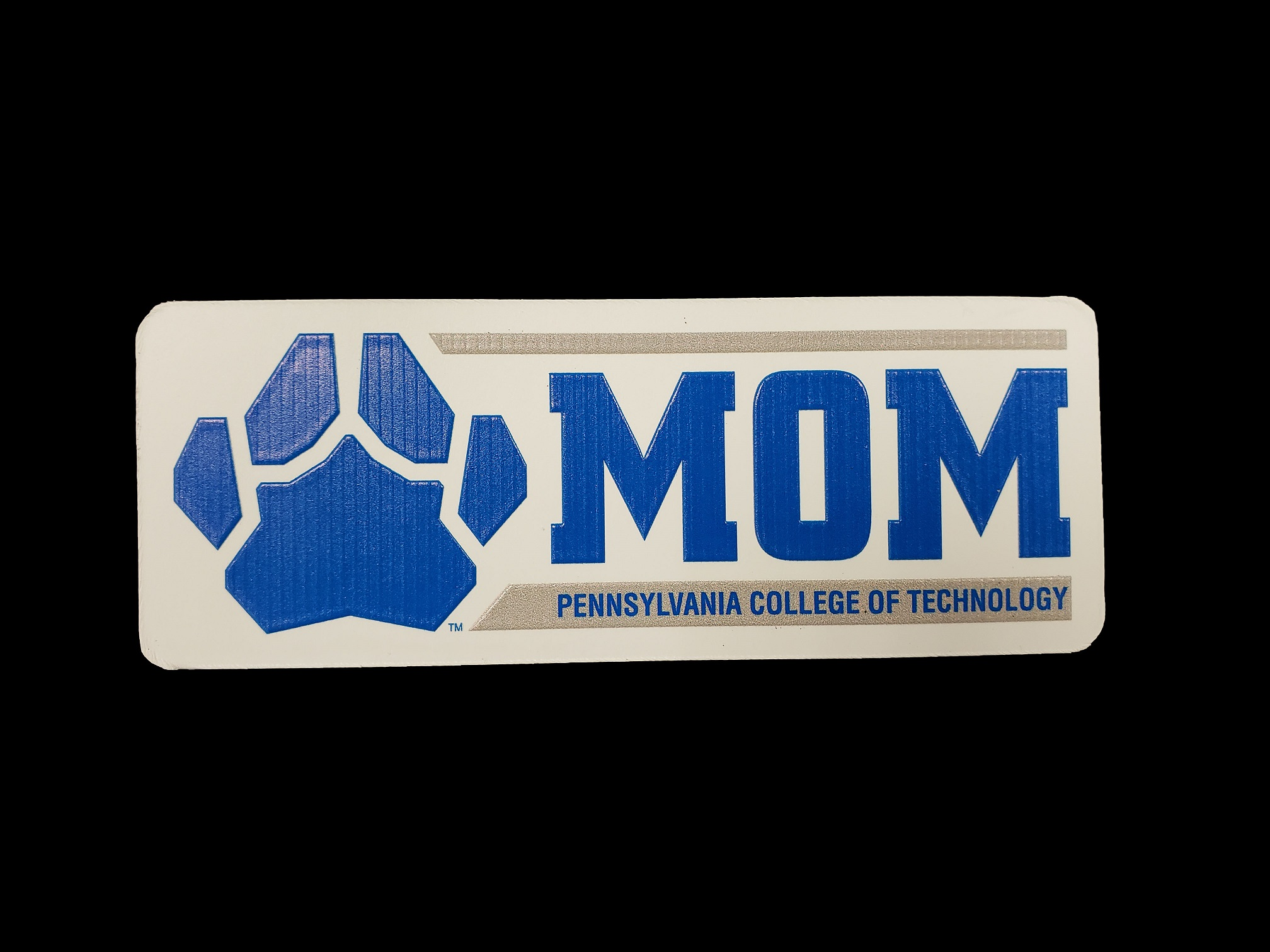 Image For MOM MAGNET W/PAW PRINT