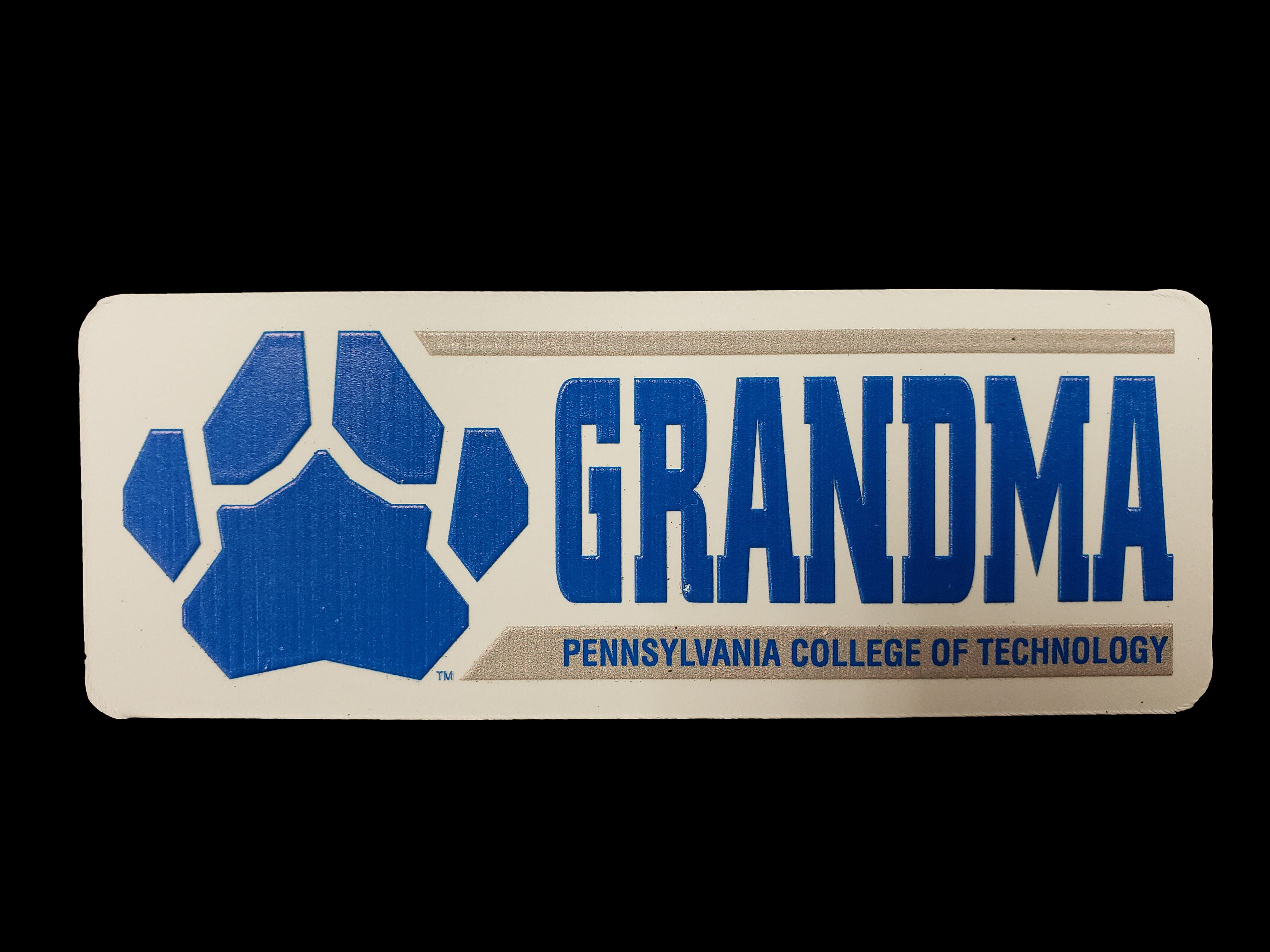 Image For GRANDMA MAGNET W/PAW