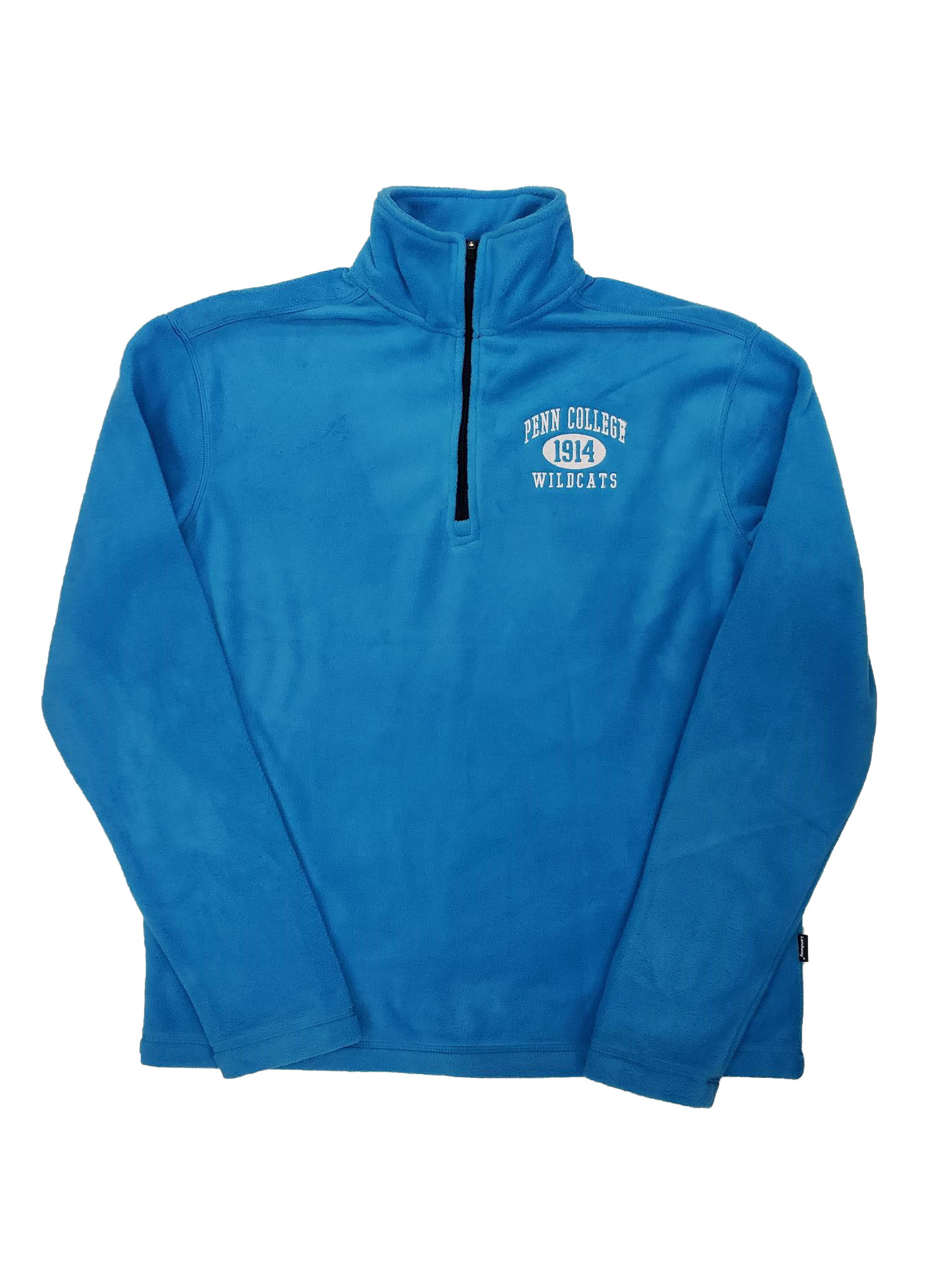 Image For Marine Blue Fleece 1/4 Zip