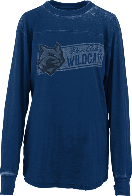 Image For Royal Blue Long Sleeve Tee
