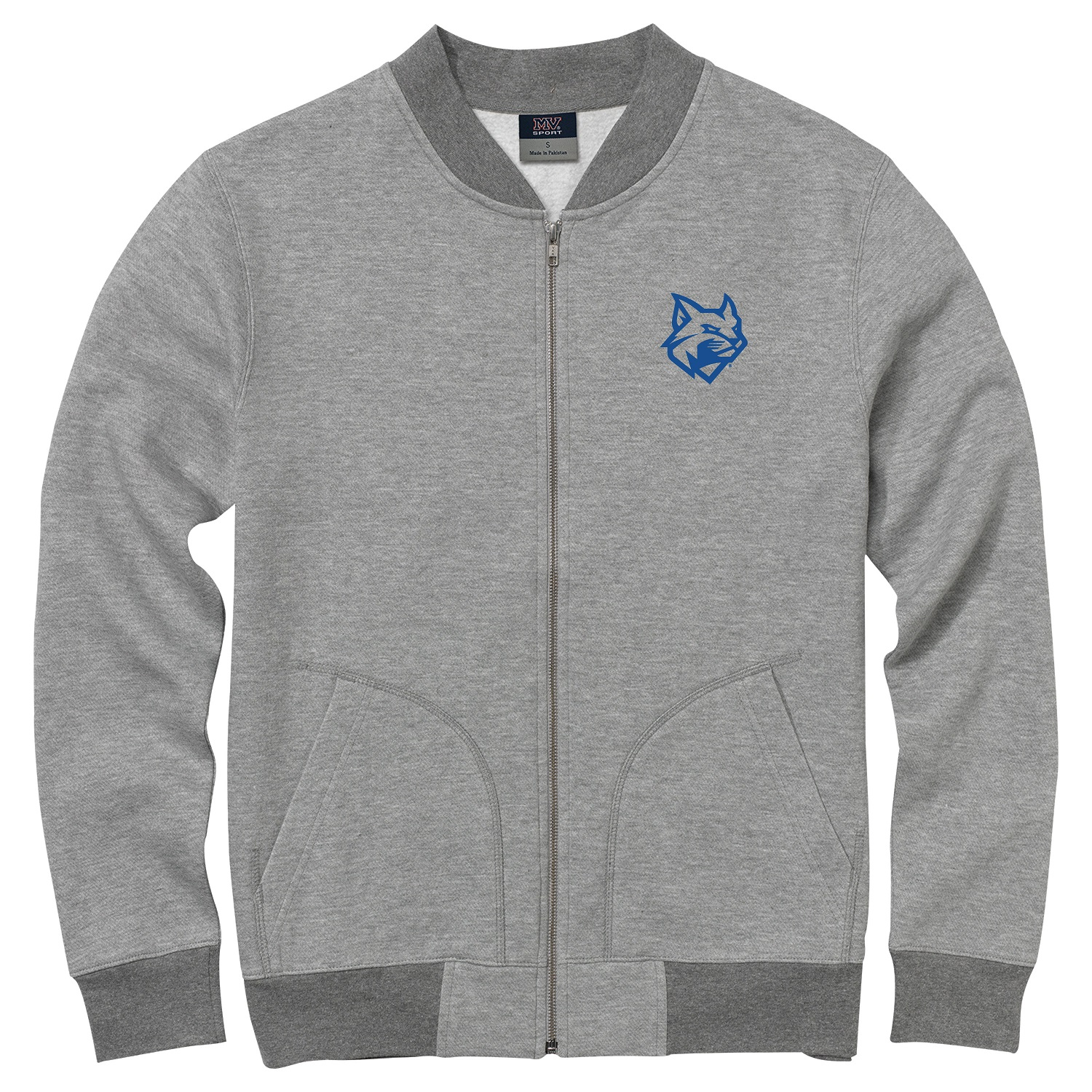 Image For Gray Wildcat Full Zip