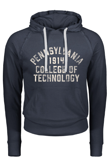 Image For Navy Thin Pennsylvania College Of Technology Hoodie