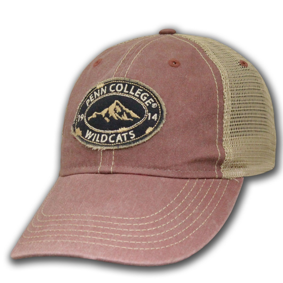 Image For HAT PC MOUNTAIN MAROON