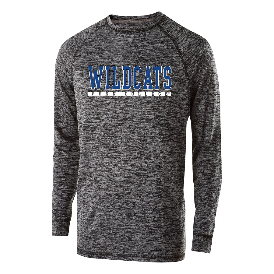 Image For Speckled Wildcats Long Sleeve Tee