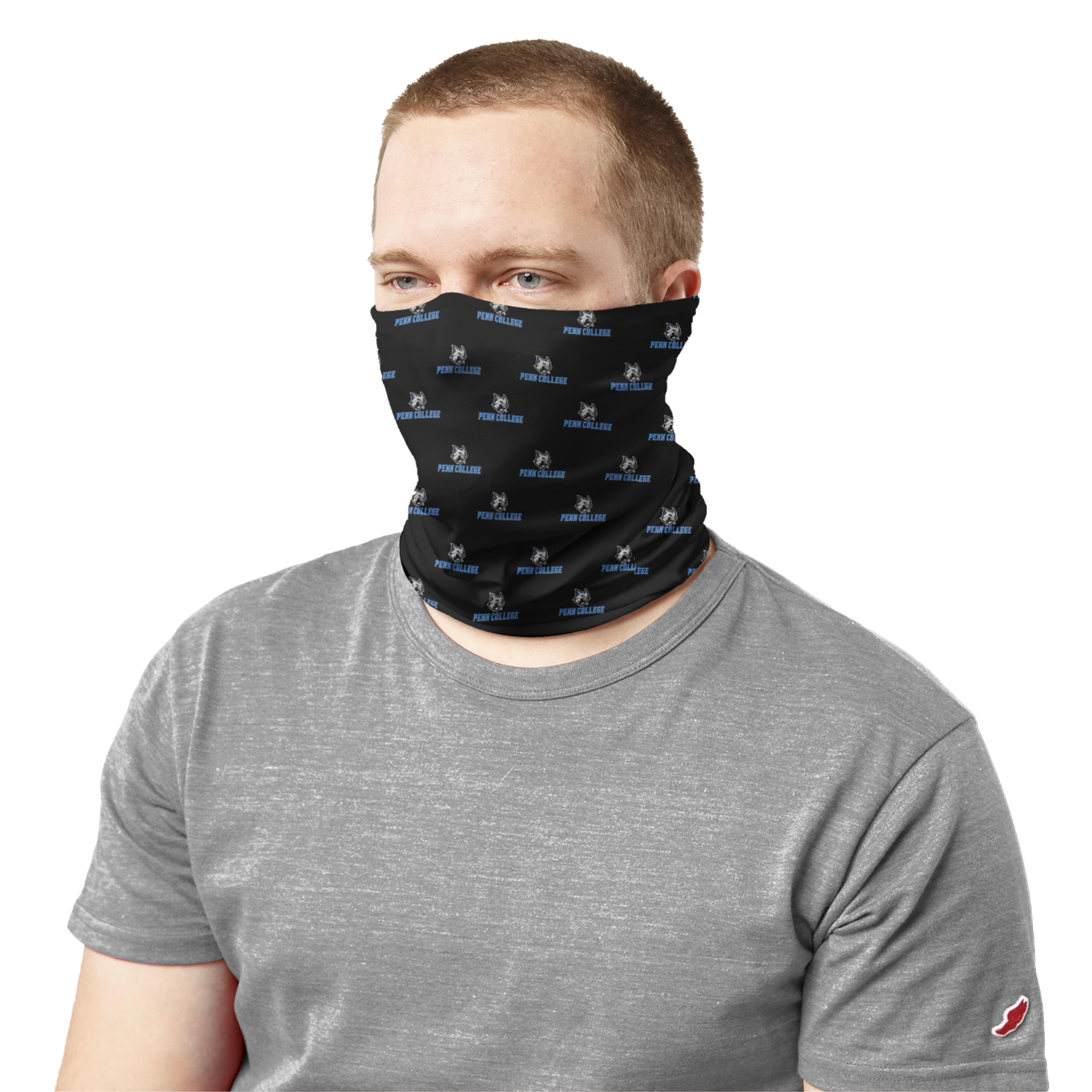 Image For Penn College Black Neck Gaiter