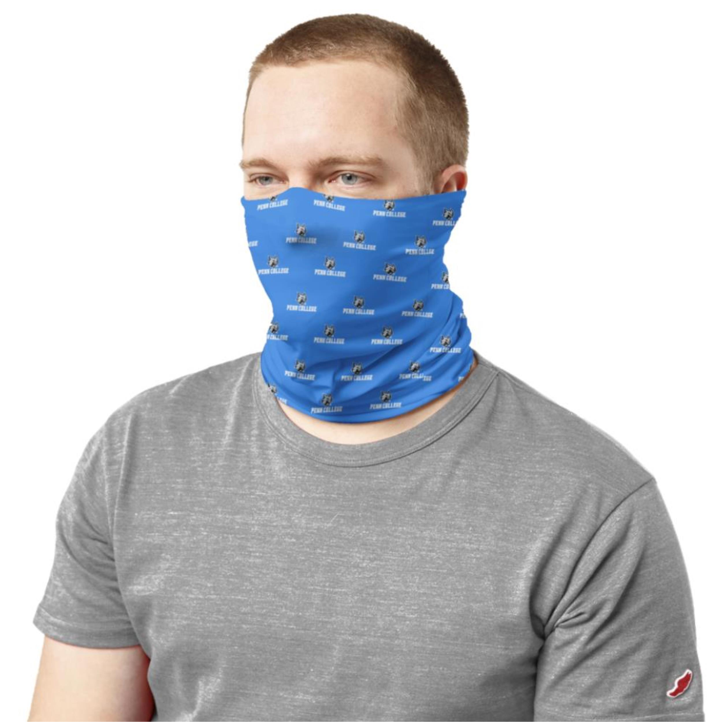 Image For Penn College Royal Neck Gaiter