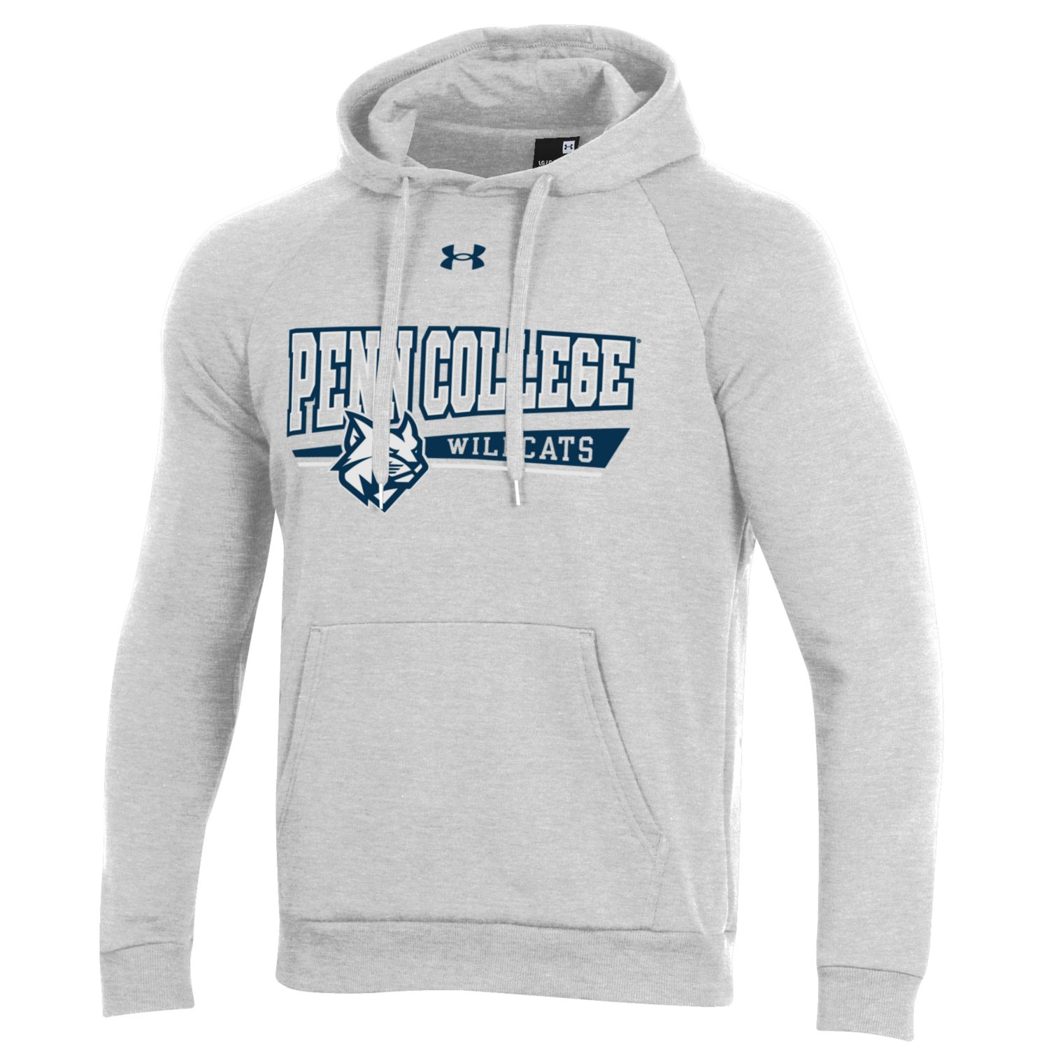 Image For Silver Heather Under Armour Hoodie