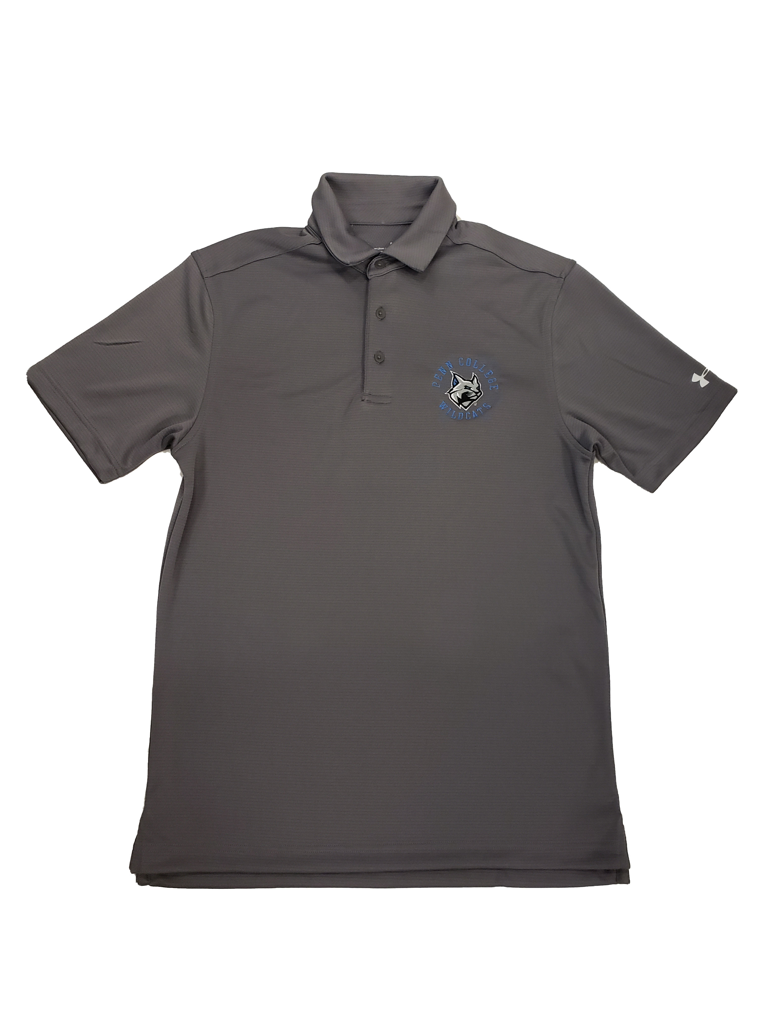 Image For Under Armour Graphite Polo