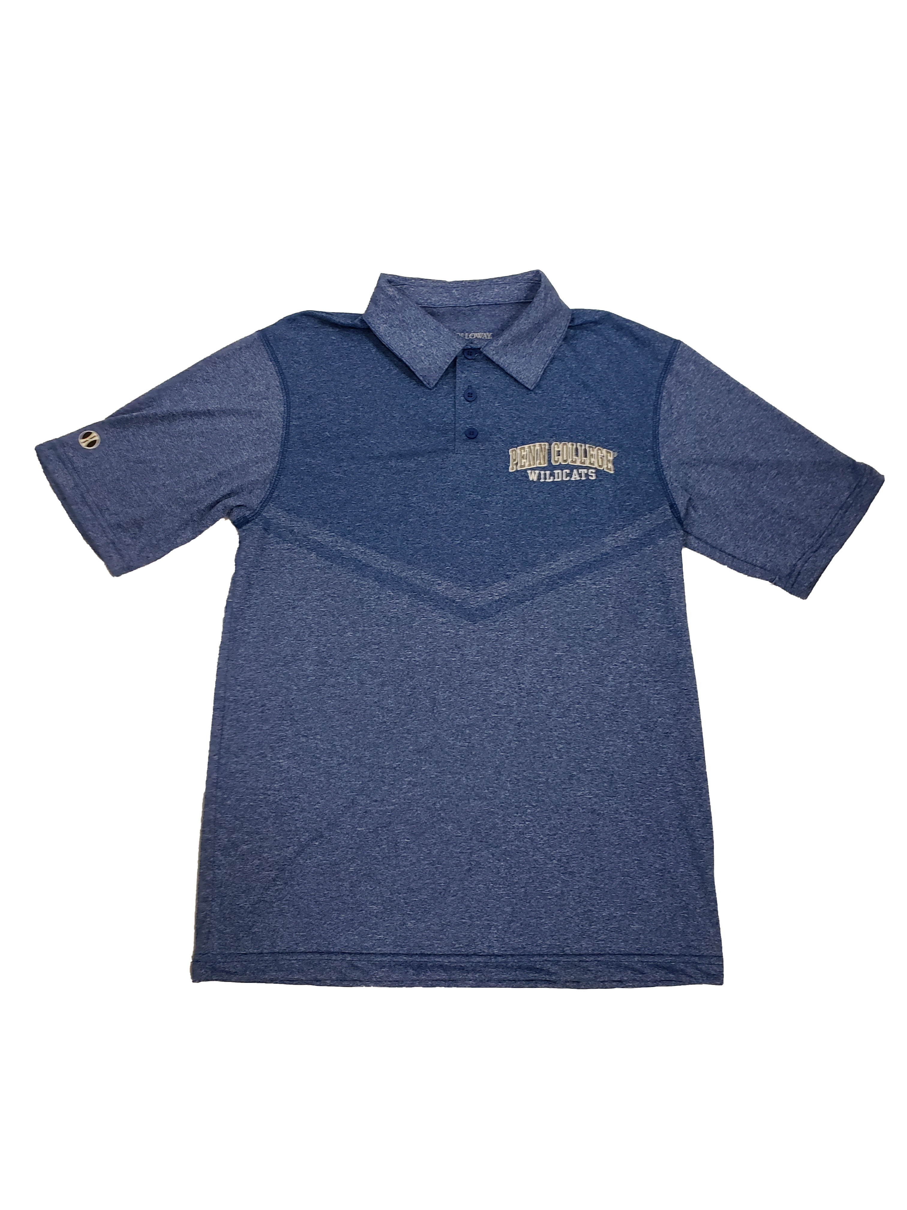 Image For Seismic Polo in Royal or Navy Heather