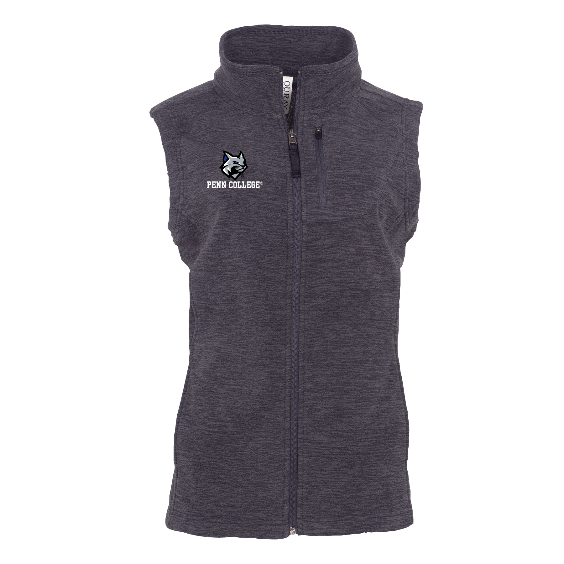 Image For Ladies Fleece Vest - Available in 2 colors!