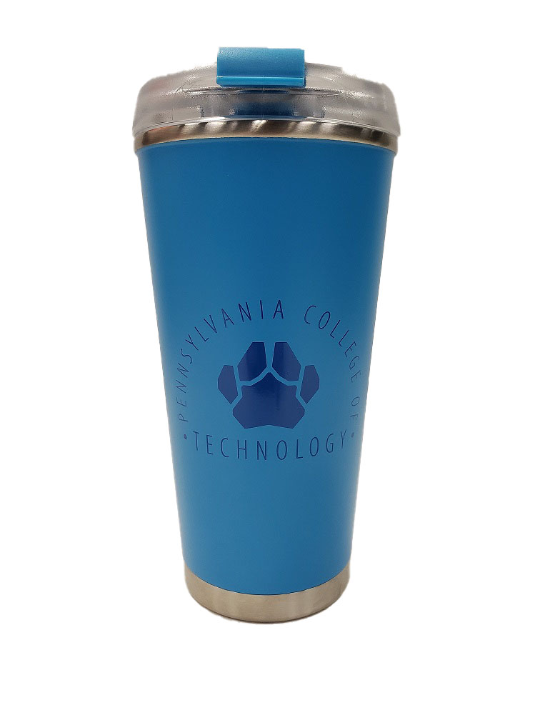 Image For LIGHT BLUE TUMBER W/ PAW