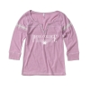 Cover Image for Ladies Gray V-Neck 3/4 Length Sleeve